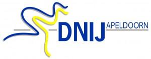 Logo van DNIJ schaats- en skeelervereniging uit Apeldoorn