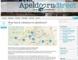 Schaatslocaties in Apeldoorn en omgeving