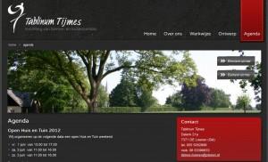 Website Tablinum Tijmes