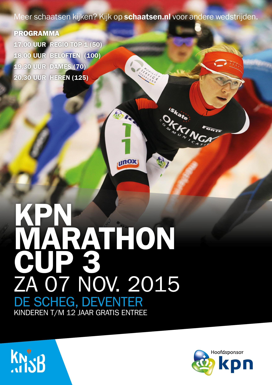 2015-07-11 KPN Marathon Cup 03, De Scheg Deventer, Poster